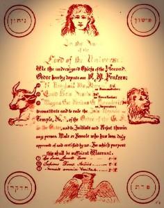 Golden Dawn charter Pasi research problem of magic